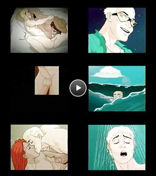 cartoon black ass video