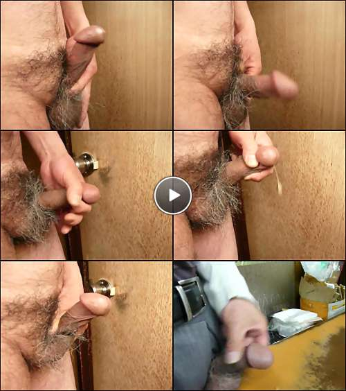 male masturbation video